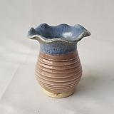 S104 물결 미니 수제화분 다육이화분 Handmade Flower pot