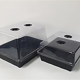 온실커버 (삽목상자3호전용) 미니온실 삽목투명커버|