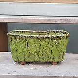 dm-103 직사각 수제화분 다육이화분 Handmade Flower pot