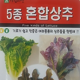5종혼합상추씨앗(1000립)|