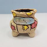 꽃이다공방 명품 수제화분 콩분 #4302|Handmade Flower pot