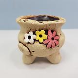 꽃이다공방 명품 수제화분 콩분 #4312|Handmade Flower pot