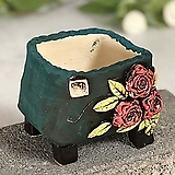 국산수제화분 도향#123(빨강) Handmade Flower pot