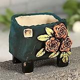 국산수제화분 도향#123(주황) Handmade Flower pot