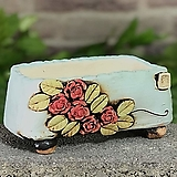 국산수제화분 도향#124(빨강) Handmade Flower pot