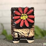 국산수제화분 도향#125(레드) Handmade Flower pot
