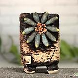 국산수제화분 도향#125(블루) Handmade Flower pot
