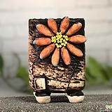 국산수제화분 도향#125(오렌지) Handmade Flower pot