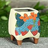 수제화분 딸기사랑(A타입) Handmade Flower pot