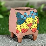 수제화분 딸기사랑(B타입) Handmade Flower pot