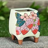 수제화분 딸기사랑(C타입) Handmade Flower pot