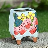 수제화분 딸기사랑(D타입) Handmade Flower pot