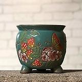 수제화분 미르2-B(청록) Handmade Flower pot