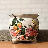 수제화분 미르2-B(하양) Handmade Flower pot