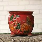 수제화분 미르2-B(빨강) Handmade Flower pot
