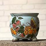 수제화분 미르2-B(하늘) Handmade Flower pot