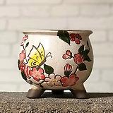 수제화분 미르2-C(하양) Handmade Flower pot