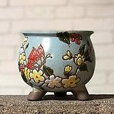 수제화분 미르2-C(하늘) Handmade Flower pot