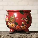 수제화분 미르2-C(빨강) Handmade Flower pot