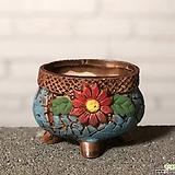 수제화분 토리2-2블루(미니화분) Handmade Flower pot