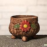 수제화분 토리2-2브라운(미니화분) Handmade Flower pot