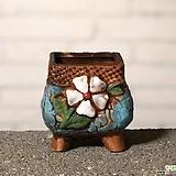 수제화분 토리2-3블루(미니화분) Handmade Flower pot