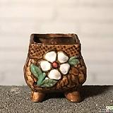수제화분 토리2-3브라운(미니화분) Handmade Flower pot