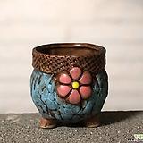 수제화분 토리2-5블루(미니화분) Handmade Flower pot