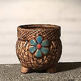 수제화분 토리2-5브라운(미니화분) Handmade Flower pot