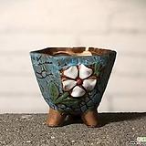 수제화분 토리2-6블루(미니화분) Handmade Flower pot