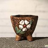 수제화분 토리2-6브라운(미니화분) Handmade Flower pot