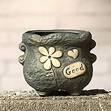 수제화분 토리4-1블루(미니화분) Handmade Flower pot