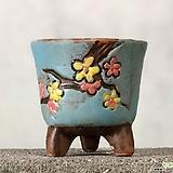 수제화분 바람꽃1(블루A)|Handmade Flower pot