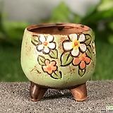 수제화분 바람꽃1(그린B)|Handmade Flower pot