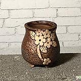 수제화분토리3-1브라운(미니화분)|Handmade Flower pot