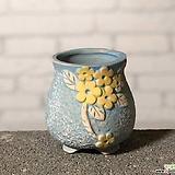 수제화분토리3-1블루(미니화분)|Handmade Flower pot
