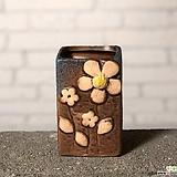 수제화분토리3-2브라운(미니화분)|Handmade Flower pot