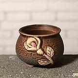 수제화분토리3-3브라운(미니화분)|Handmade Flower pot