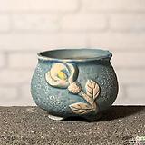 수제화분토리3-3블루(미니화분)|Handmade Flower pot