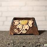 수제화분토리3-4브라운(미니화분)|Handmade Flower pot
