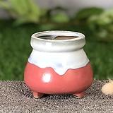 수제화분 미니원분2(진핑크)|Handmade Flower pot