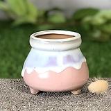 수제화분 미니원분2(연핑크)|Handmade Flower pot