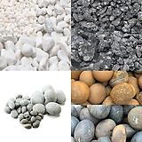 대포장 돌 자갈 맥반석 백자갈 백돌 흰돌 고령토 에그스톤 왕자갈 이집트에그스톤 자갈 조경|