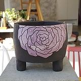 수제화분 흑토분 장미분 202003025|Handmade Flower pot