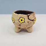 꽃이다공방 명품 수제화분 콩분 #4446|Handmade Flower pot