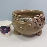꽃이다공방 명품 대형 수제화분 #4477|Handmade Flower pot
