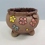 꽃이다공방 명품 수제화분 꽃그림 #4620|Handmade Flower pot