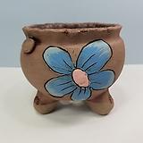 꽃이다공방 명품 수제화분 꽃그림 #4621|Handmade Flower pot