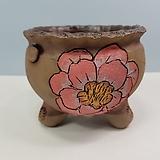 꽃이다공방 명품 수제화분 꽃그림 #4622|Handmade Flower pot