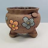 꽃이다공방 명품 수제화분 꽃그림 #4624|Handmade Flower pot